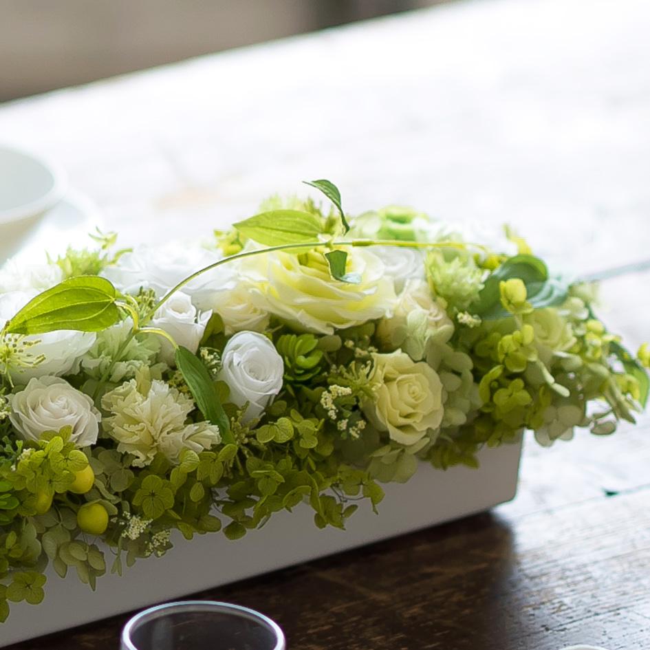 プリザーブドフラワー「花々の饗宴」の詳細その3